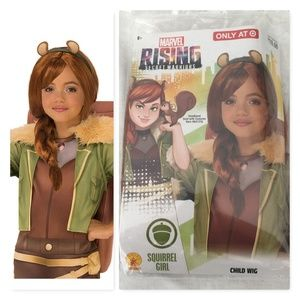Marvel Rising Squirrel Girl Wig NEW